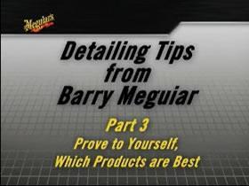 Barry Meguiar klinka autodetailing'u - część 3