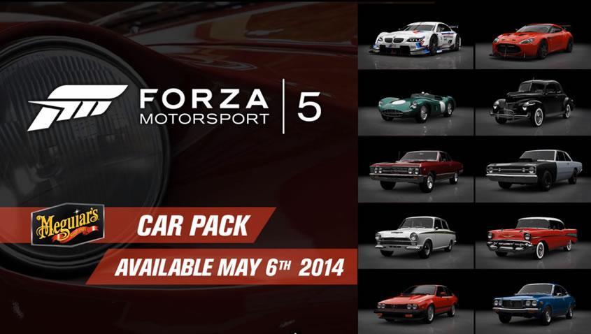 Meguiar's Forza Motorsport 5 Car pack