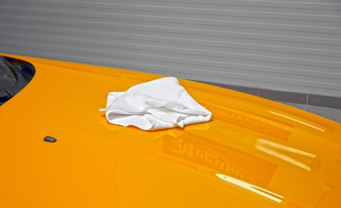 Meguiars Soft Towel Squeak Test