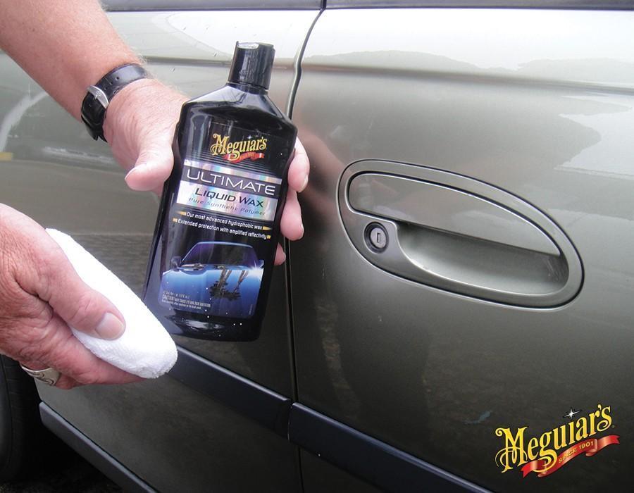 rysy przy drzwiach woskowanie Ultimate liquid wax