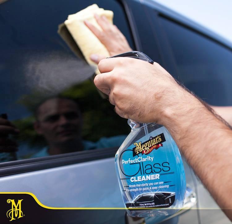 czyszczenie szyb Meguiars Perfect Clarity Glass Cleaner