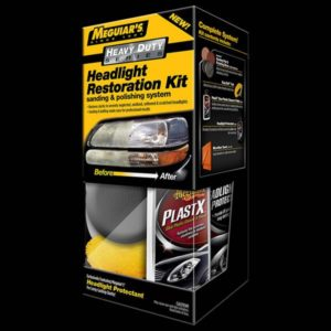 Heavy Duty Headlight Restoration Kit (G3000)