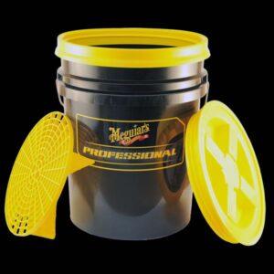 Professional Wash Bucket Combo - Black-yellow (X1196KIT2BY)