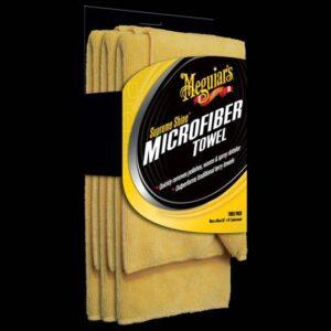 Supreme Shine Microfiber Towels (3-pack) (X2020)