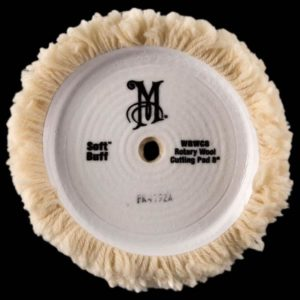 Soft Buff Rotary Wool Cutting Pad (WRWC8) 4