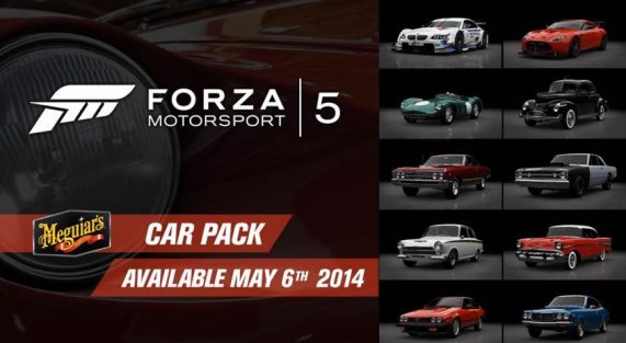 Meguiar's Forza Motorsport 5 Car pack